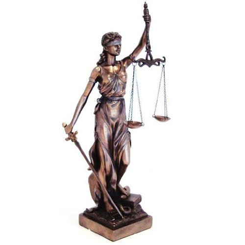 justitia themis goddess of justice law statue real